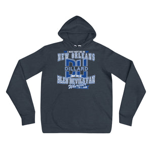 Premium Adult Dillard Fan Wherever I Am Unisex Fleece Pullover hoodie