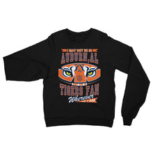 Load image into Gallery viewer, Adult Unisex Wherever I Am- Auburn Tigers Sweatshirt