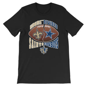 Premium Adult House Divided Saints/Cowboys T-Shirt (SS)