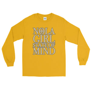 Adult NOLA Girl State of Mind T-Shirt (LS)