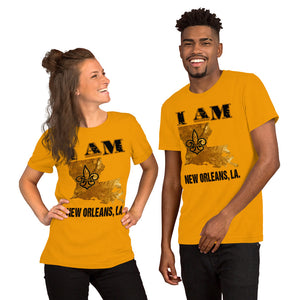 Premium Adult Unisex I Am New Orleans T-Shirt (SS)