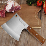 Professional Bone A Stainless Steel Cleaver Chef Knife