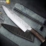 8 inch Professional Japanese Santoku Stainless steel Chef Knife