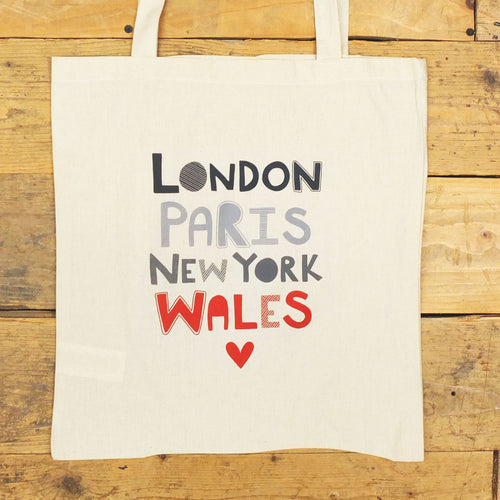 Iconic Places Tote Bag