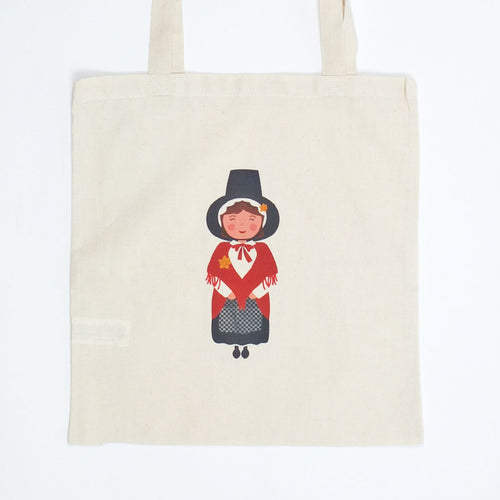 Welsh Lady Tote Bag