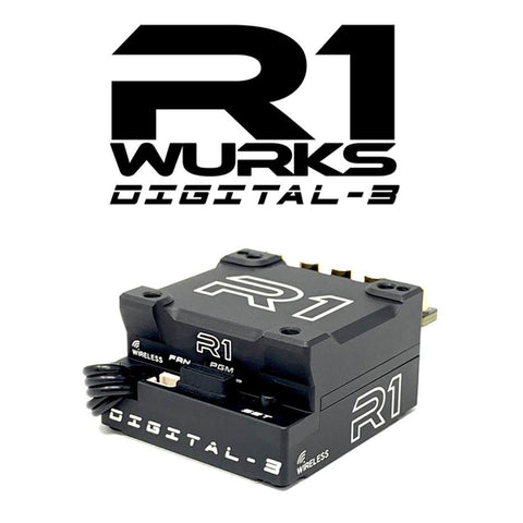R1 WURKS DIGITAL 3 SPEED CONTROLLER NEW FOR 2019 IDEAL FOR MOD AND STOCK ....