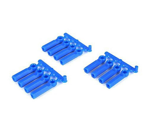 RPM 4-40 12 Long Shank Rod Ends - Blue