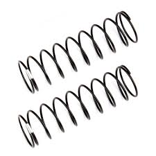 Team Associated Rear Shock Springs, white, 1.90 lb/in, L [ASS91838]