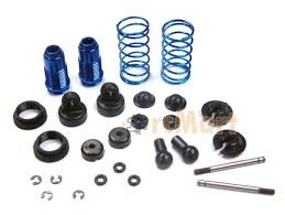 Blue Aluminum Shock Kit, front ASS6442