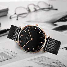 8057C | Quartz Men Watch | Mesh Band