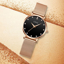 8055C | Quartz Women Watch | Mesh Band