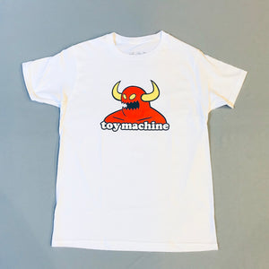 Toy Machine Devil man Tee White