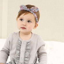 Load image into Gallery viewer, Colorful Tiny Fragrant Flowers Bow-Knot Headband - BabyLand.my