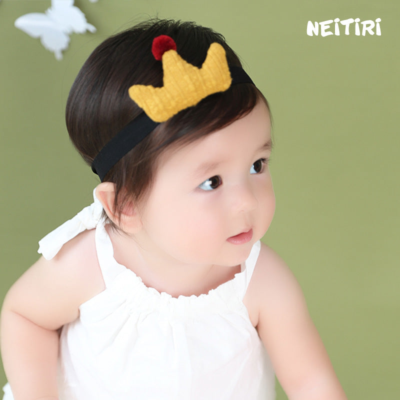 Angel Neitiri Exaggerated Yellow Crown Headband - BabyLand.my