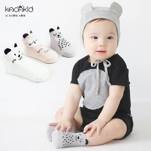 Kacakid Cheerful Animals Cotton Socks Series - BabyLand.my
