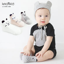 Load image into Gallery viewer, Kacakid Cheerful Animals Cotton Socks Series - BabyLand.my
