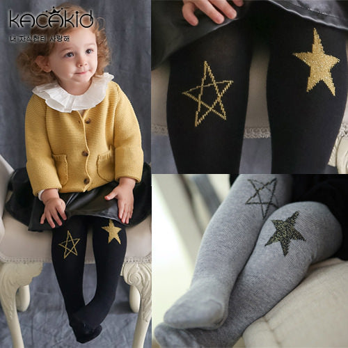 Kacakid Star Patches Baby Legging (2 colors) - BabyLand.my