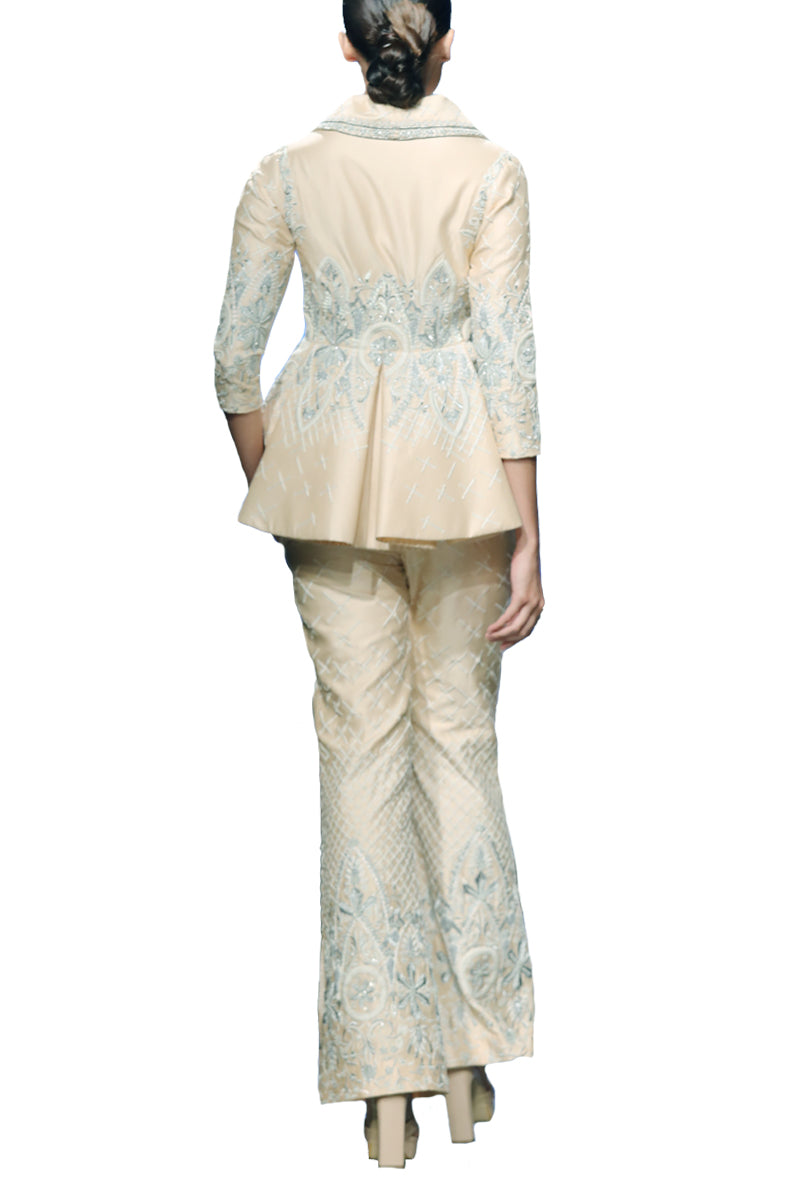 Embroidered Pantsuit