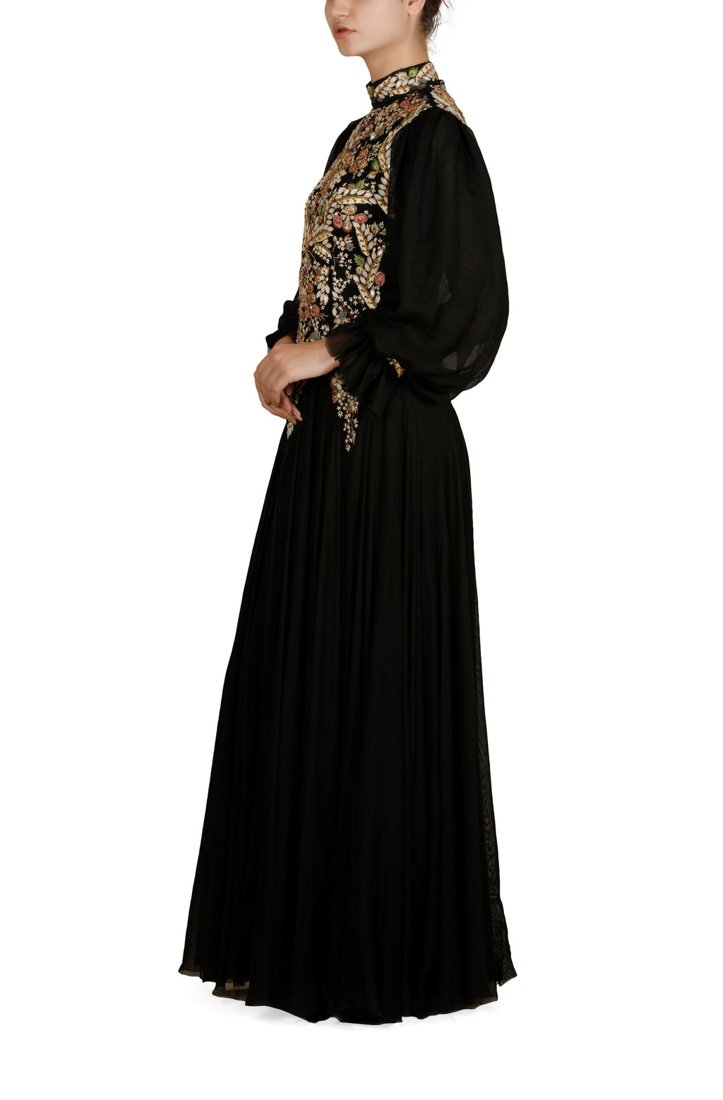 Bishop Sleeves Gown
