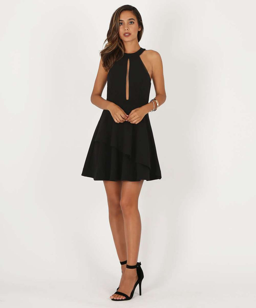 Meaning To Tell You Skater Dress-Speechless