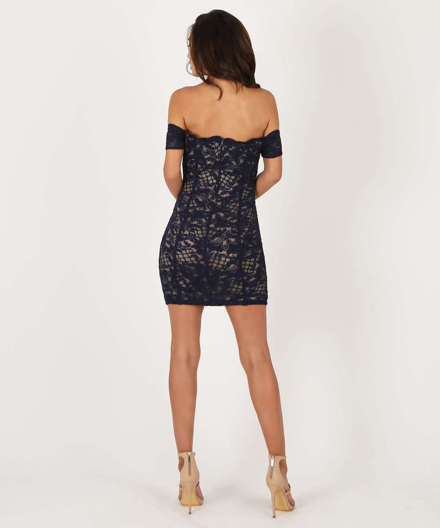 Daniella Bodycon Dress-Speechless