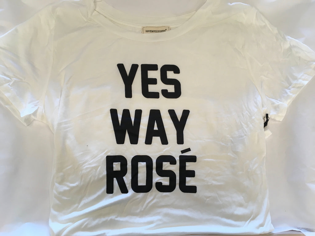 """Yes Way Rose"" Plus T-shirt"