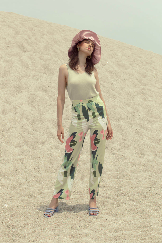 Masae Printed Trousers