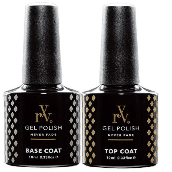 Gel Polish Top & Base Coat Twin Pack by RYV