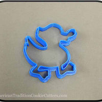 "3.75"" Duck 3D Printed Plastic Cookie Cutter-americantraditioncookiecutters"