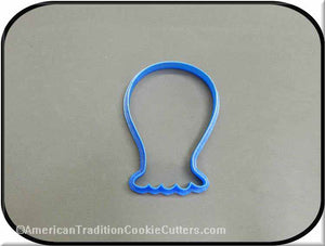 "4"" Monster 3D Printed Plastic Cookie Cutter-americantraditioncookiecutters"