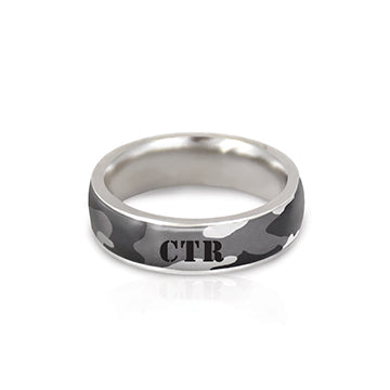 CTR Men's Designer Camo Ring