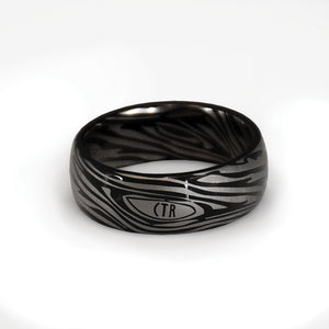 CTR Men's Designer Damascus Ring