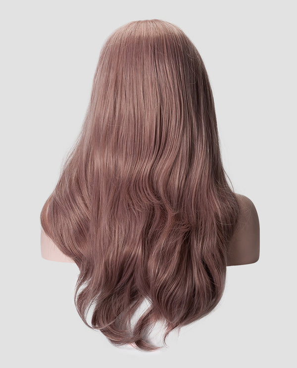 "Blush Wavy 18"" Synthetic Lace Front Wig"