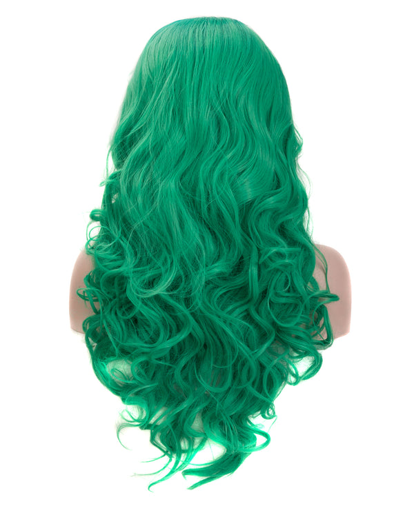 Blue-Green Ombre 22¡± Body Wave Wig