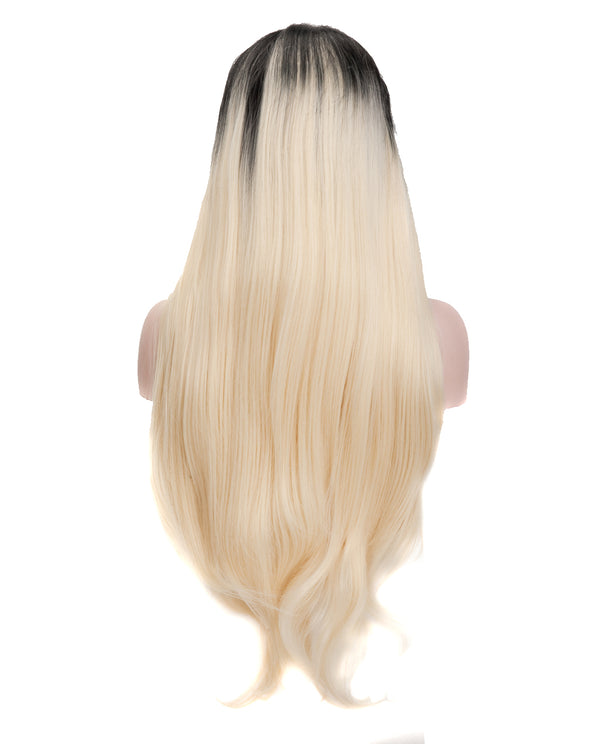 Black Ombre 22¡± Straight Wig