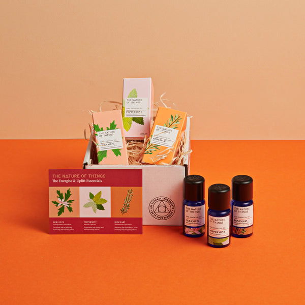 Gift Set - The Energise and Uplift Essential Oils