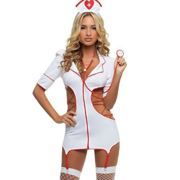 Sexy Nurse Costumes Cosplay Lingerie Woman Porn Dress Nurse Uniform Cosplay Lingerie Female Lingerie Hot Erotic Lingerie