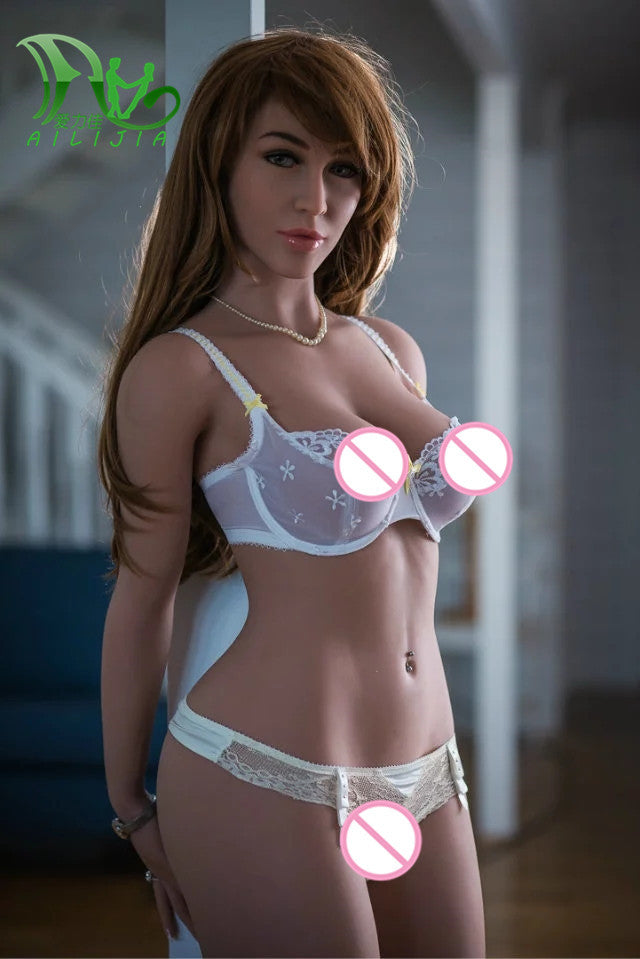 165cm Top Quality Beautiful sexy woman sex robot full silicone with metal skeleton sex doll men's sex toy