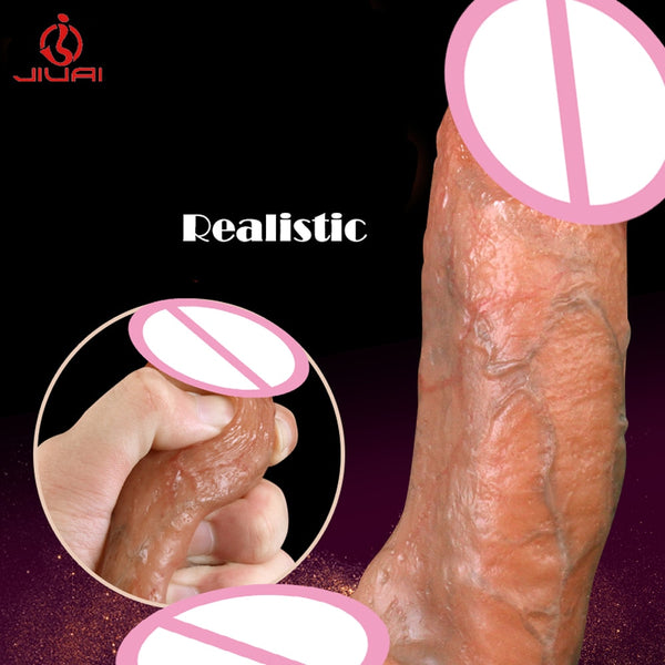 New Super Huge Dildo Realistic Penis Erotic Sex Toys for Woman Silicone Big Dick Penis Horse Dildos Sex Toy Female Masturbation