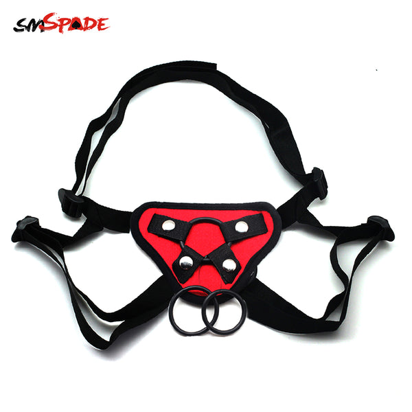 Smspade Adult Games Slave Restraint Strap on Harness for Dildo Sex Toy bdsm Ftish Slave Bondage Erotic Adult Sex Toy for Couples