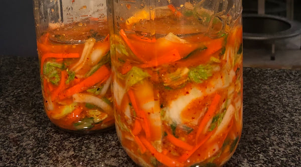 fermented food benefits - kimchi recipe