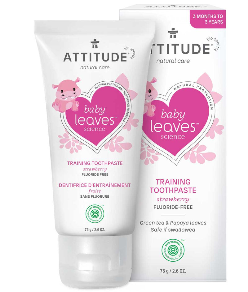 16721- ATTITUDE Baby Leaves Training Toothpaste fluoride free for babies & toddlers _en?_main?