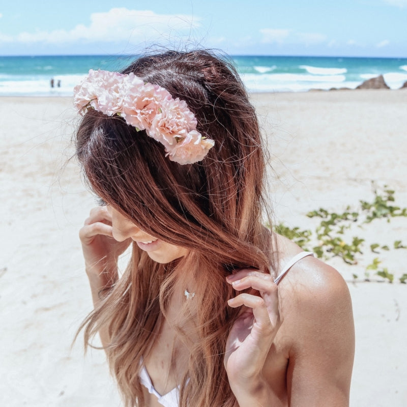 Cherish Flower Crown (Peach)