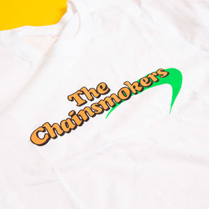 The Chainsmokers White Tee