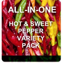 All-in-One Pepper Variety Pack