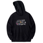 Faces Stranger Things Hooded Mens Hoodies - freakichic