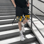 Summer ulzzang Harlan five points camouflage pants Plus Size