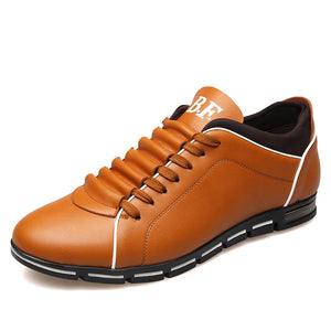 Men Casual Shoes Fashion Leather Shoes - freakichic