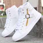 Trendy shoes high-top casual shoes sneakers