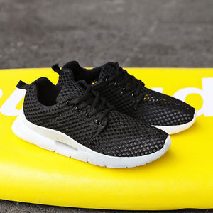 Honeycomb mesh shoes fashion breathable lightweight MD ultra light running shoes - freakichic